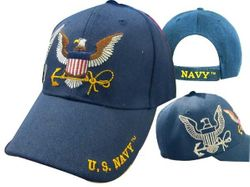 Wholesale Bulk Suppliers - ECAP570b. Military Embroidered Acrylic Caps
