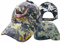 Wholesale Bulk Suppliers - ECAP571b. Military Embroidered Acrylic Caps