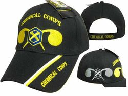 MSC Distributors : Bulk Caps Hats Supplier Wholesale Military Embroidered American USA - CAP568 Chemical Corps Cap