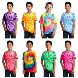 Tie Dye T Shirts Wholesale Tie Dye Clothing - #189-PROMO Special! Youth Tie Dye T-shirts - $3.50 each(48 pieces)