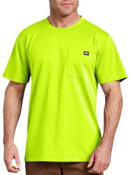 Wholesale Blank Safety Clothing and Apparel - Genuine Dickies Men's Short Sleeve Performance Pocket T-Shirt