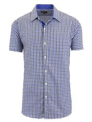 Wholesale Clothing and Apparel - Men's Short Sleeve Casual Dress Shirts Slim Fit Button Down