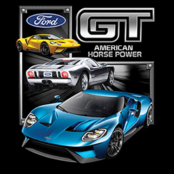 Wholesale Clothing - Bulk Apparel Classic Car T-Shirts Wholesale Ford GT T Shirts - MSC Distributors