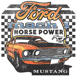 Ford Mustang T Shirts For Men - 22550D1