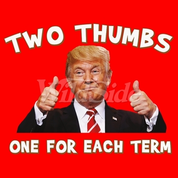 Trump T Shirts Wholesale Two Thumbs Donald J. Trump T Shirts Official Republican for Men Pro Funny Wholesale - 20247
