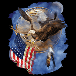 Wholesale Country Patriotic Eagle Graphic T Shirts Discount for Men Women Suppliers Distributors - 22109HD2