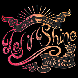 Wholesale Country Let it Shine Graphic T Shirts Discount for Men Women Suppliers Distributors - 22158HD2