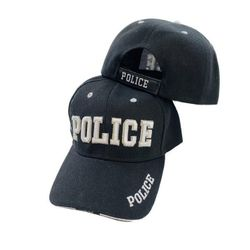 Wholesale Police Headwear Products Cheap Women and Men's Hats, Caps - HT88. POLICE Hat