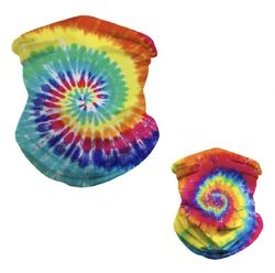 Face Mask Wholesale Bulk - BN1491. Multi Functional Headgear Gaiter Buff [Tie Dye]