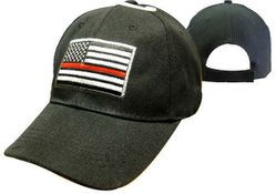 Firefighter Apparel Hats - CAP650 Red Line