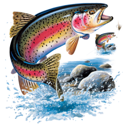 Wholesale Fishing Rainbow Trout T Shirts - Buy Cheap in Bulk from USA Suppliers  - MSC Distributors