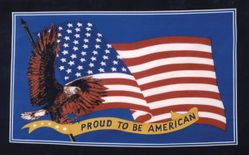 Wholesale Flags - Buy Cheap Flags from USA Best Wholesalers - Flag7147. Wholesale 3'x5' Proud To Be American Flying Eagle Flag