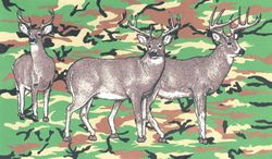 Wholesale Flags - Buy Cheap Flags from USA Best Wholesalers - Flag7148. Wholesale Camouflage with Deers Flag