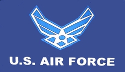 Wholesale Flags Supplier Bulk - F292A. Miltary Air Force