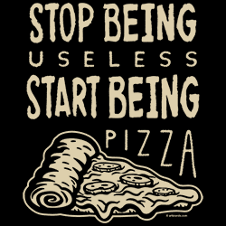 Wholesale Graphic Funny Sayings T-Shirts Suppliers Bulk PIZZA - 22359EL4