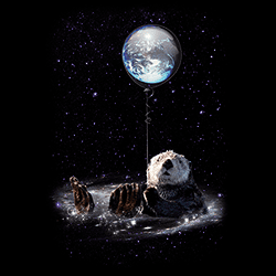 Wholesale Graphic Moon Bear Tees for Women T-Shirts T Shirts, Military Hats and Caps Bulk Suppliers - 21976D2