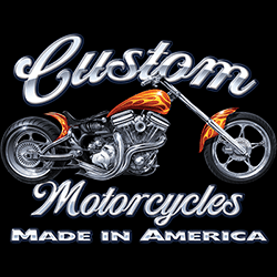 Wholesale Graphic Custom Motorcycle Tees for Women T-Shirts T Shirts, Military Hats and Caps Bulk Suppliers - 22189HD2