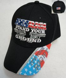 Wholesale Gun Hats - AMERICA STAND YOUR GROUND Hat