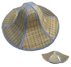 Party Toys Wholesale Hat and Cap Suppliers - HT1545. Foldable Straw Hat [18]