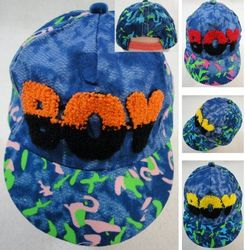 Party Toys Wholesale Hat and Cap Suppliers - HT740. Infant Ball Cap [BOY] Printed