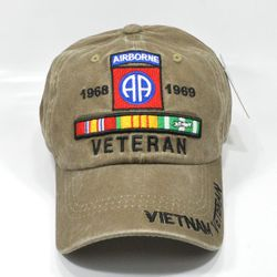 Wholesale Hats Ball Caps Military 82nd Airborne Army Veteran
