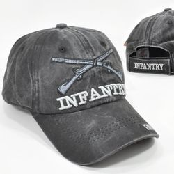 Wholesale Hats Ball Caps Military Veteran Infantry Army