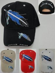 Wholesale Native HatPride Hats and Native American s Caps Wholesalers Buy Suppliers - HT177. Native Pride Hat-Feather