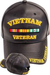 Wholesale Leather Military Hats and Caps - Vietnam Veteran