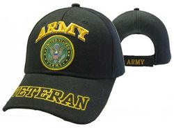 Wholesale Clothing, Best Selling Army Military Wholesale Hats Bulk Suppliers - Military Veterans - Army Emblem  Veteran Shadow Cap