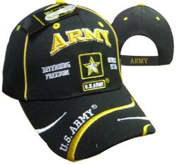 Best Selling Military Hats and Caps for the Army - Wholesale Army Logo Defend Freedom Cap
