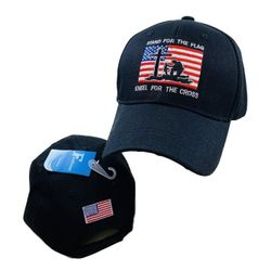 USA Wholesale Clothing & Apparel - Patriotic Hats Caps USA Bulk - HT2130. I Stand for The Flag and Kneel The Cross Baseball Cap Sports