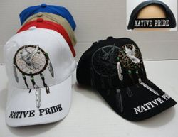 Wholesale Native HatPride Hats and Native American s Caps Wholesalers Buy Suppliers - HT687. Native Pride Hat with Dream Catcher