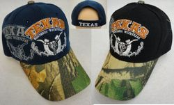 Wholesale Novelty - HT560. TEXAS DON'T MESS WITH TEXAS Hat [Camo Bill]