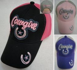 Wholesale - HT113. COWGIRL Hat [Horseshoe Star]
