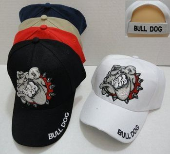 Wholesale Dog Clothes - Dog Hats Caps - Dog Wholesalers - Dog T Shirts - HT722. BULL DOG Hat