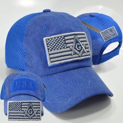 Wholesale Licensed Military Hats & US Military Caps - PT-207 MASON ALL ROYAL