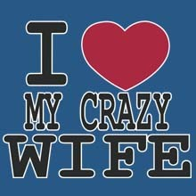 Wholesale Men's Crazy Wife Family Clothing Supplier T Shirts Hats Bulk - 21448
