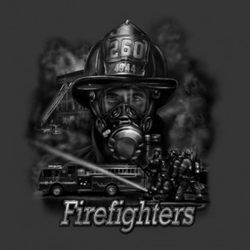 Firefighter T Shirts - 21084