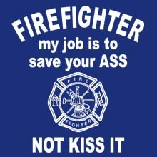 Firefighter T Shirts - 21396