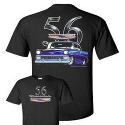 Wholesale Men's Women's American Muscle Car T Shirts Bulk Suppliers - johny-56-Chevy-no-flame-279x279