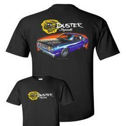 Wholesale Men's Women's American Muscle Car T Shirts Bulk Suppliers - johny-NEW-DUSTER