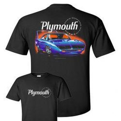 Wholesale Men's Women's American Muscle Car T Shirts Bulk Suppliers - johny-NEW-SUPERBIRD