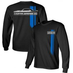 Wholesale Men's Women's American Muscle Car T Shirts Bulk Suppliers - Mopar-Garage-Long-sleeve