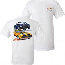 Wholesale Men's Women's American Muscle Car T Shirts Bulk Suppliers - TDC_122-69-70-Camaro