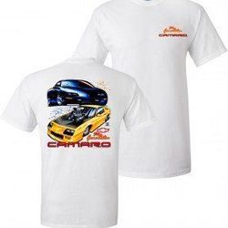 Wholesale Men's Women's American Muscle Car T Shirts Bulk Suppliers - TDC_123-84-99-Camaro