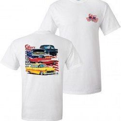 Wholesale Men's Women's American Muscle Car T Shirts Bulk Suppliers - TDC_127-Glory-Days
