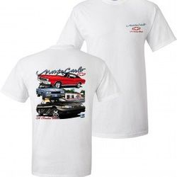 Wholesale Men's Women's American Muscle Car T Shirts Bulk Suppliers - TDC_152-Monte-Carlo