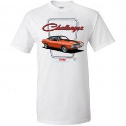 Wholesale Men's Women's American Muscle Car T Shirts Bulk Suppliers - TDC_162-Challenger