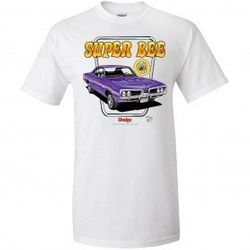 Wholesale Men's Women's American Muscle Car T Shirts Bulk Suppliers - TDC_164-Super-Bee