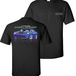 Wholesale Men's Women's American Muscle Car T Shirts Bulk Suppliers - TDC-178-Challenger